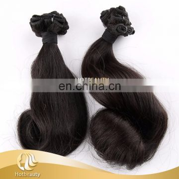 2017 Hot Selling Human Hair, Double Drawn Magical Curl Funmi Human Hair Extension