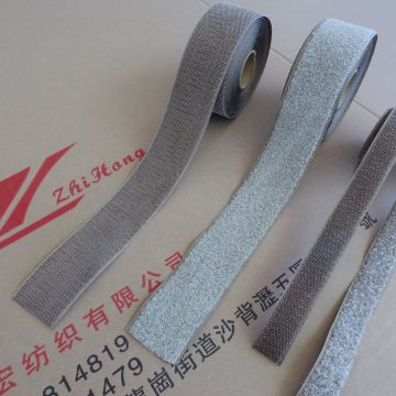 Silver coated hook and loop conductive fastener tape for the antistatic products for electronic industry