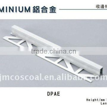 extruded aluminum section