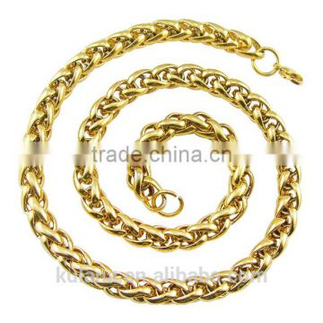 5-10mm Round Chain Gold Necklace Designs in 3 grams 91806