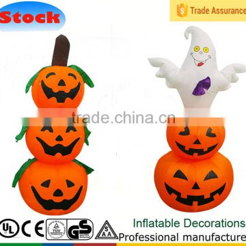 DK-106 102 inflatable halloween decoration giant 4ft pumpkin ghost promotions