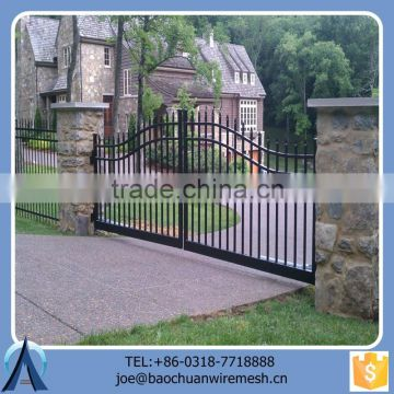 New Design Salable Durable Swing Gate For Garden Factory