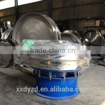 Rotary powder vibrating sifter for ceramic industry