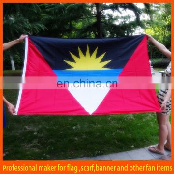 polyester big football fan flag