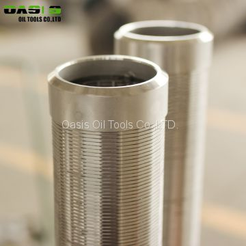 Stainless Steel Wire Wrapped Johnson Screen Pipe for Water Well Drilling