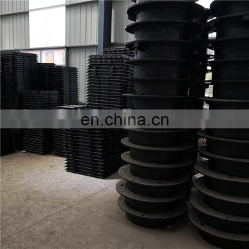 Square 500*500 SMC sewage manhole cover for wholesales