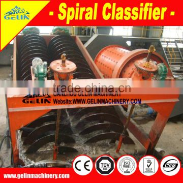 High quality double spiral ore washer