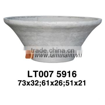 Vietnam Exporter Mystery Outdoor Fice Natural Wash Stylish Matt Pottery