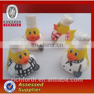 CUSTOMIZED DESIGN /RUBBER CHEF DUCK