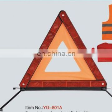 China High-Visibility reflective warning triangle in Road Safety