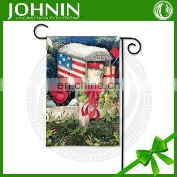 high quality factory selling customized logo garden flag