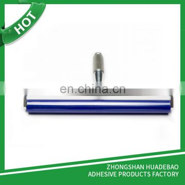 12 inch Adhesive Blue ESD Silicone Sticky Roller For LED