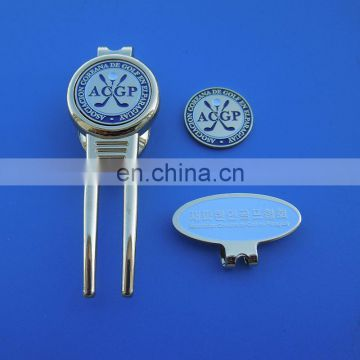 wholesale cheap custom made golf magnetic hat clip golf ball marker