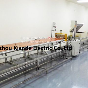 Compact Busbar Fabrication Machine For Busbar Mylar Bending And Forming