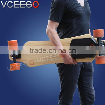 New fashion two wheel self balance electric skateboard with swappable battery can desgin your travel mileage