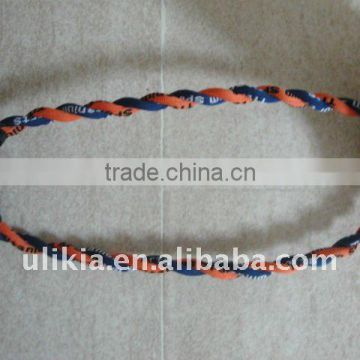 2012 Hot selling Tornado twisted rope necklace