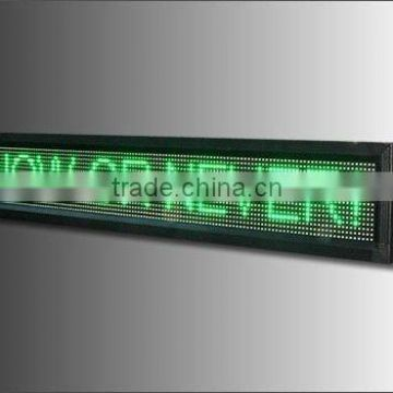 outdoor P10mm led message display board, digital led electronic