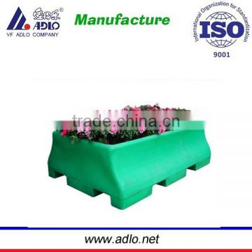Good Quality Outdoor LLDPE rotomoulded plastic enviromental Flower Planter