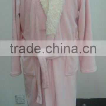 Women's fluffy robe