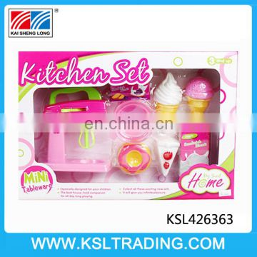 Funny wholesale gifts plastic kitchen set for kids