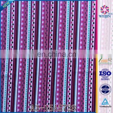 Knit Custom Tricot Elastic Grid Print Fabric