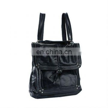 Guangzhou Shoulder Leather Bag with popular style