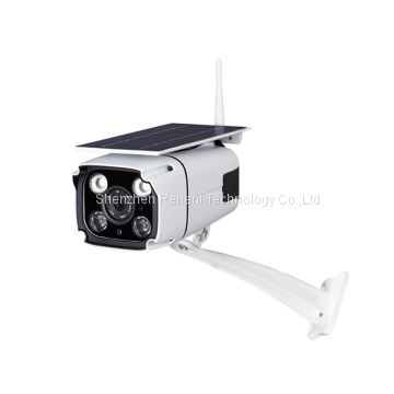 Rehent wire-free IP66 waterproof night vision security camera 1080P solar powered