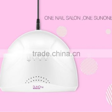 Sun-light Non diazzy non hurt eyes Nail art tool led uv lamp wholesales 48w nail led uv lamp with sensor