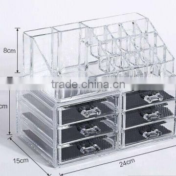 Clear acrylic make up organizer wholesale                                                                         Quality Choice