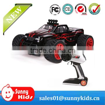 High speed 1:16 scale 2.4GHz 4 electric rc car monster truck