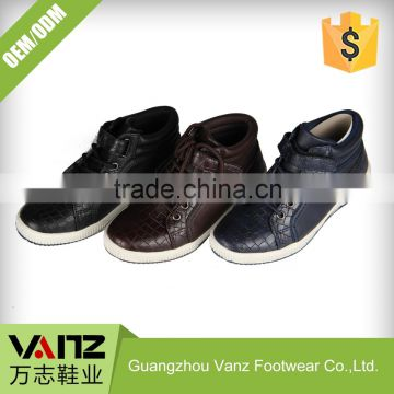 Ankle Leather Boys Men Boots Italian Customizable Casual Shoes
