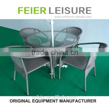 FEIER A6008CH Hotel Furniture Rattan Outdoor Furniture Coffee Table