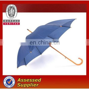Wooden Straight Umbrella For Business And Corporate Promotion Purpose