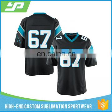 Wholesale sublimation 100% polyester american football jersey custom of  Custom Rugby Jersey from China Suppliers - 157937150 6435dba96