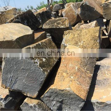 Basalt square stone for wall cladding