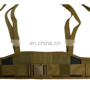 Tactical Military Buckle Belt with Shoulder straps