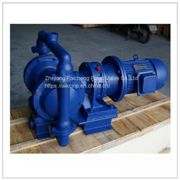 High viscosity diaphragm pump