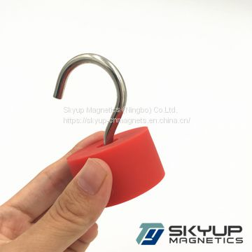 Strong Neodymium Magnet Magnetic Hook Assembly