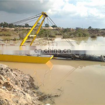 The ship equipment for river sand dredging with high quality
