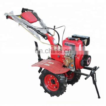 Multi-function agricultural hand push cultivator small ploughing machine