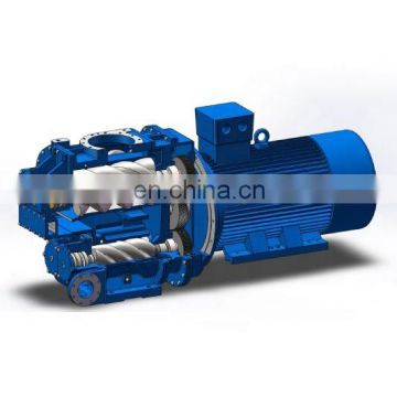 Fast delivery electric motor rotary screw air compressor for farming
