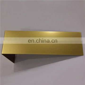 4x8 Color stainless steel bronze sheet in grade 201 for elevator