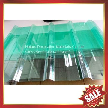 corrugated roofing pc sheet,polycarbonate corrugated sheet