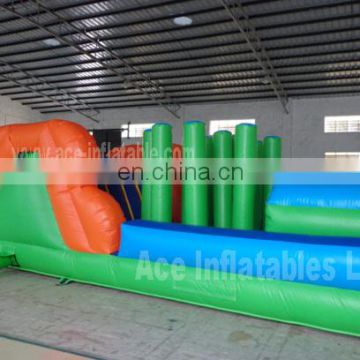 Inflatable bug obstacle game