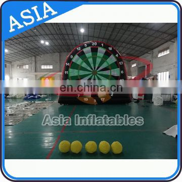 New style inflatable football darts game/ sports game/ inflatable soccer dart
