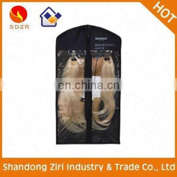 2014 fashionable clear pvc hair extension bag