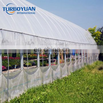 transparent reinforced woven fabric plastic cover for greenhouse/cherry tree clear Tarpaulin