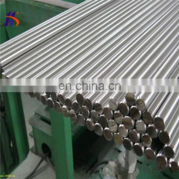 HAIRLINE ASTM 321 stainless Steel round bar 304