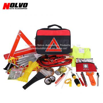 12pcs Car Roadside Emergency Tool Kit Auto Safety Kit