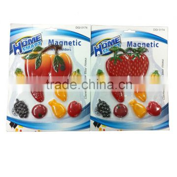 resin fridge magnets/Colorful magnetic refrigeration sticker/refrigerator magnet sticker